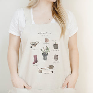 Garden Essentials Watercolor Apron