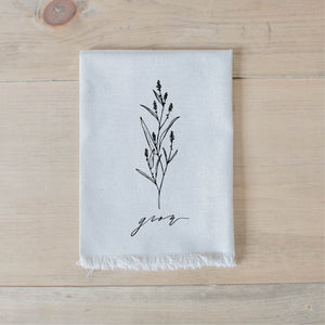 Grow Wildflower Napkin