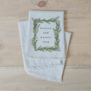 Heaven and Nature Watercolor Napkin