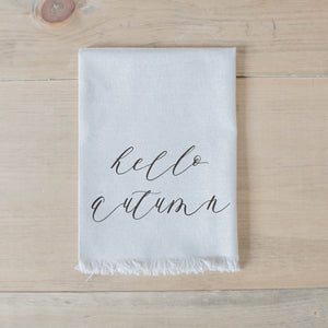 Hello Autumn Napkin