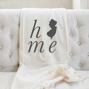 Personalized Home State Throw Blanket