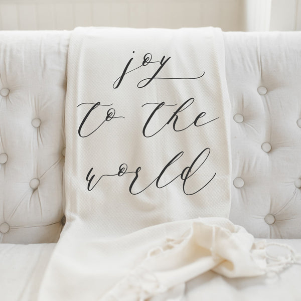 Joy To The World Blanket
