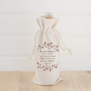 Lamentations 3 Wine Bag