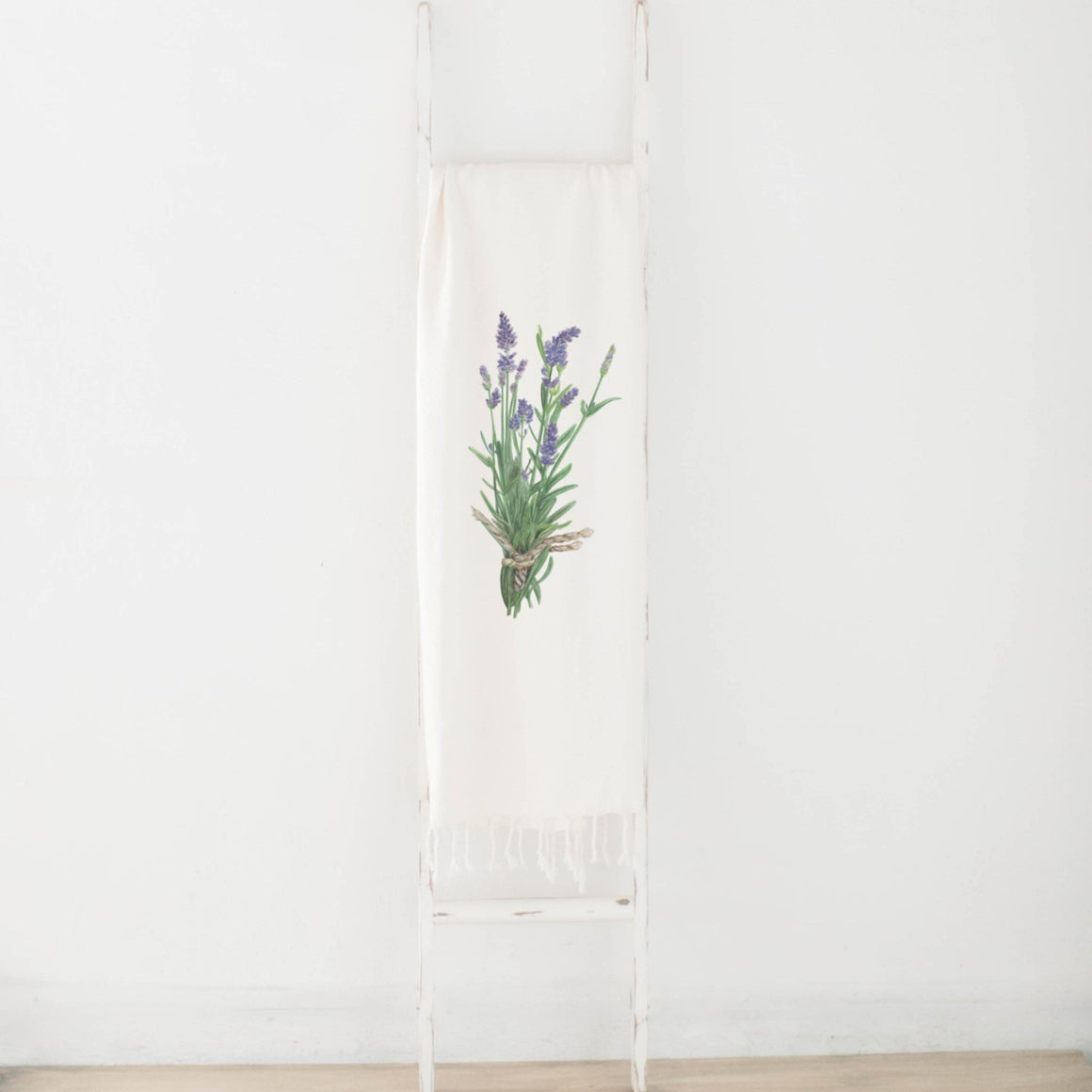 Lavender Watercolor Blanket