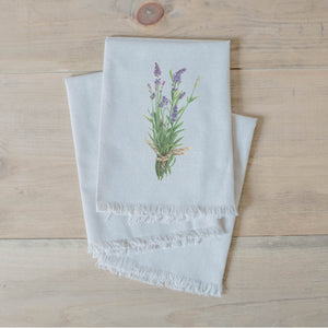 Lavender Watercolor Napkin