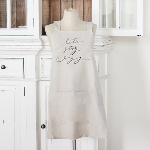 Let's Stay Cozy Apron