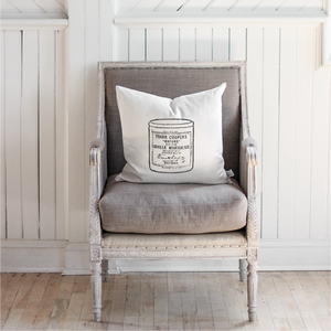 Vintage Marmalade Jar Pillow