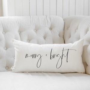 Merry & Bright Lumbar Pillow