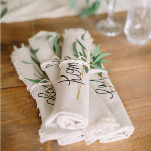 Mixed Rolled Napkin Set
