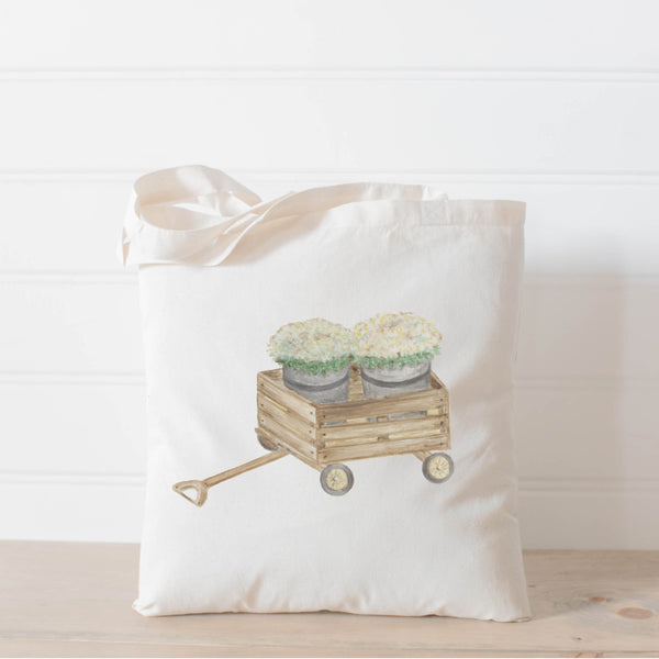 Mums Watercolor Tote Bag
