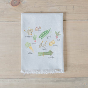 Vegetables Watercolor Napkin