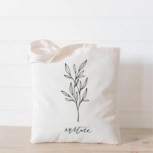 Nurture Wildflower Tote Bag