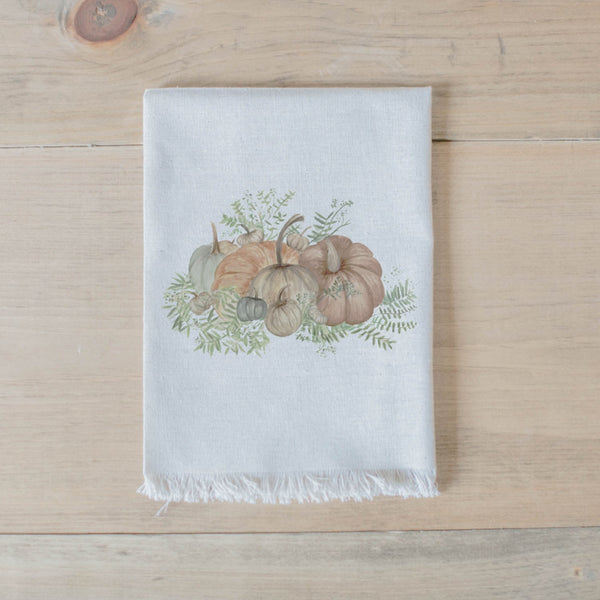 Pumpkin Bunch Watercolor Napkin
