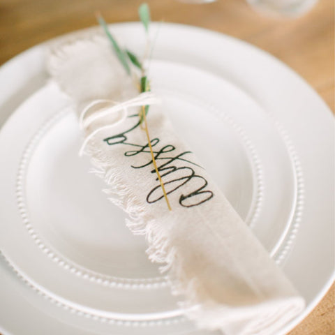 Personalized Name Napkin
