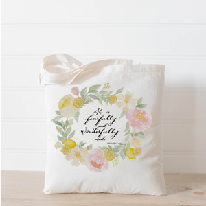 Psalm 139 Tote Bag