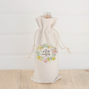 Psalm 139 Wine Bag
