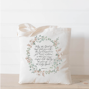 Romans 15 Tote Bag
