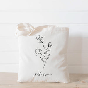 Thrive Wildflower Tote Bag