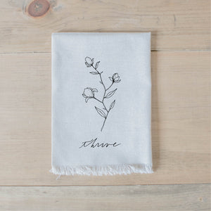 Thrive Wildflower Napkin