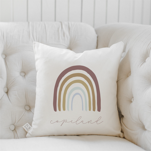 Traditional Rainbow Pillow
