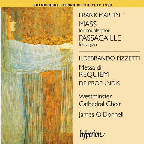 CD - Martin/Pizzetti - Mass and Missa de Requiem