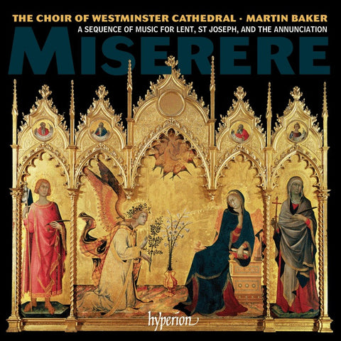 CD - Miserere for Lent, St Joseph & Annunciation