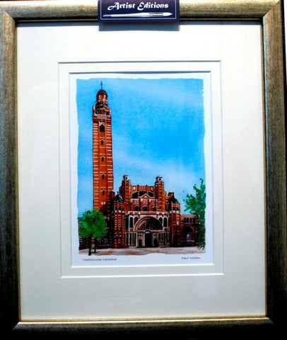 Westminster Cathedral Framed Print