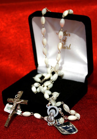 Rosary - Medium Oval/MOP
