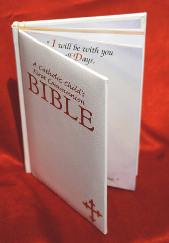 Communion Bible - White