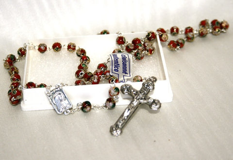Rosary - Genuine Cloisonne Bead