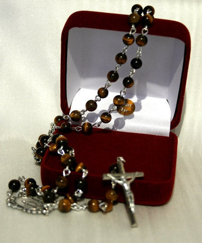 Rosary - Tiger Eye