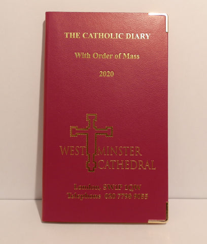 Westminster Cathedral 2020 Diary Hardback