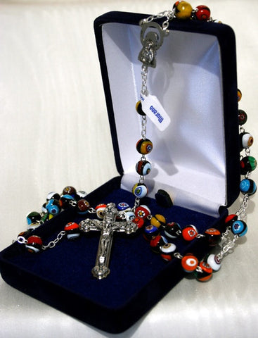 Rosary - Murano Glass