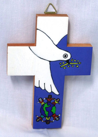 Cross - Dove with Children
