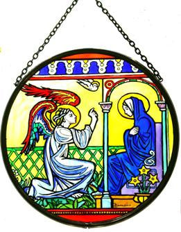 "Roundel 6"" - Annunciation/WC"