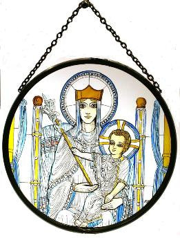 Roundel - Our Lady of Walsingham - Medium