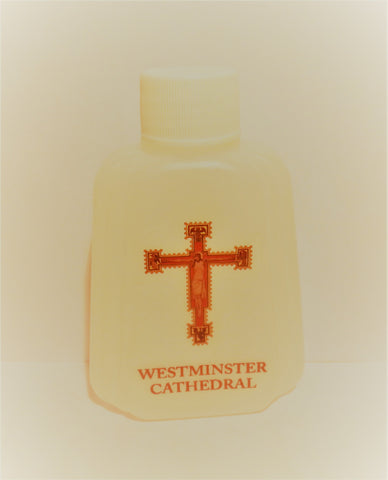 Westminster Cathedral Holy Water Bottle - Regular Top