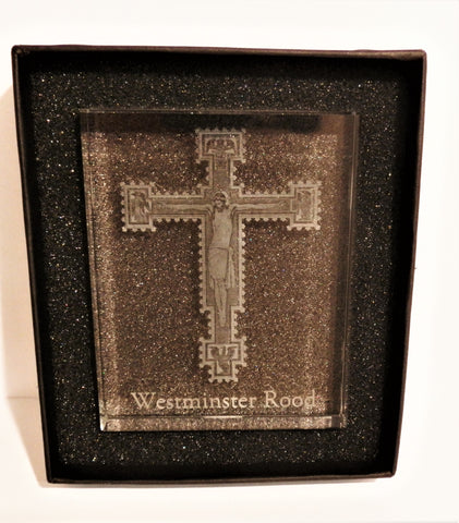 WC Glass Block - Westminster Cathedral Holy Rood
