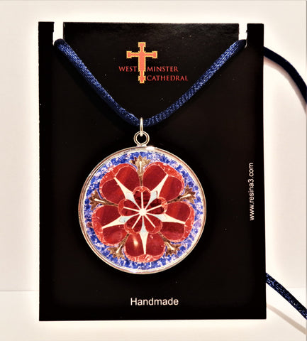 Westminster Cathedral Marble Flower Pendant
