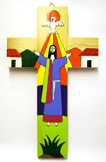 Cross - Risen Christ 10""