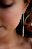 Bar Beaded Earrings