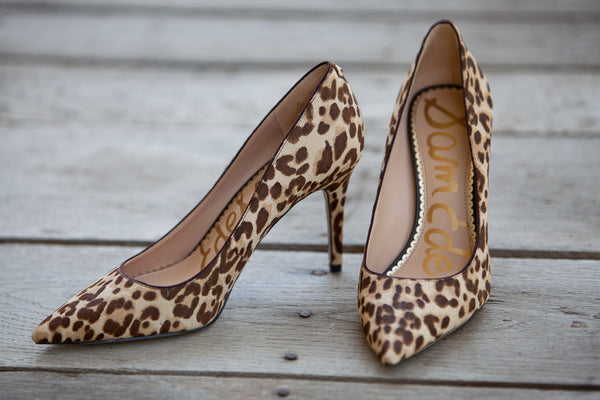 9313e4b8be88 ... Sam Edelman - Margie Pointed Toe Pump - Nude Leopard