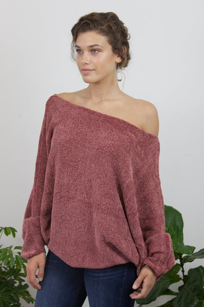 Chenille Loose Fit Sweater