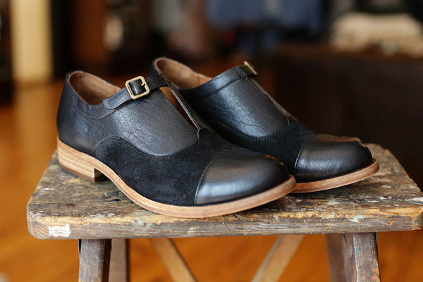 Kork-Ease Niseda Black Combo Shoe