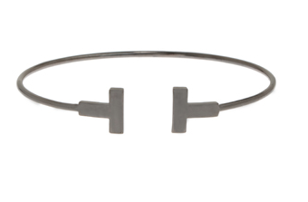 High Polish Vertical Bar Adjustable Bangle