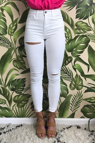 Cello - High Rise Ankle Skinny