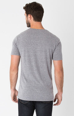The Modern Heather V-Neck Tee