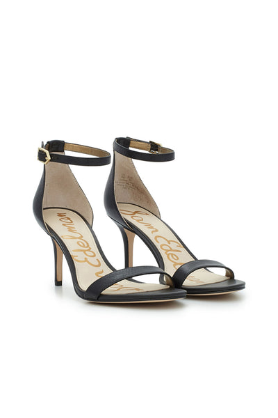 Sam Edelman - Patti Ankle Strap Heel - Black