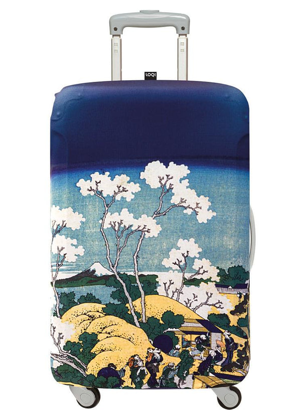 Hokusai Mt. Fuji from Gotenyama Hill, 1830–32 Luggage Cover