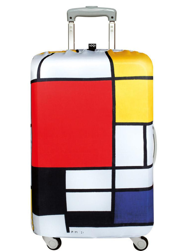 Piet Mondrian Composition Red, Yellow, Blue & Black, 1921 Luggage Cover